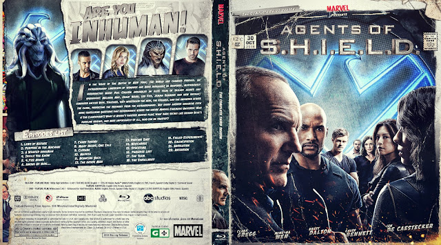 Agents of SHIELD Season 3 Bluray Cover
