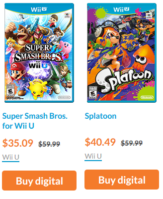 E3 2016 sales deals Nintendo Splatoon Super Smash Bros. For Wii U