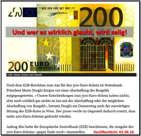 500 euro schein abschaffung