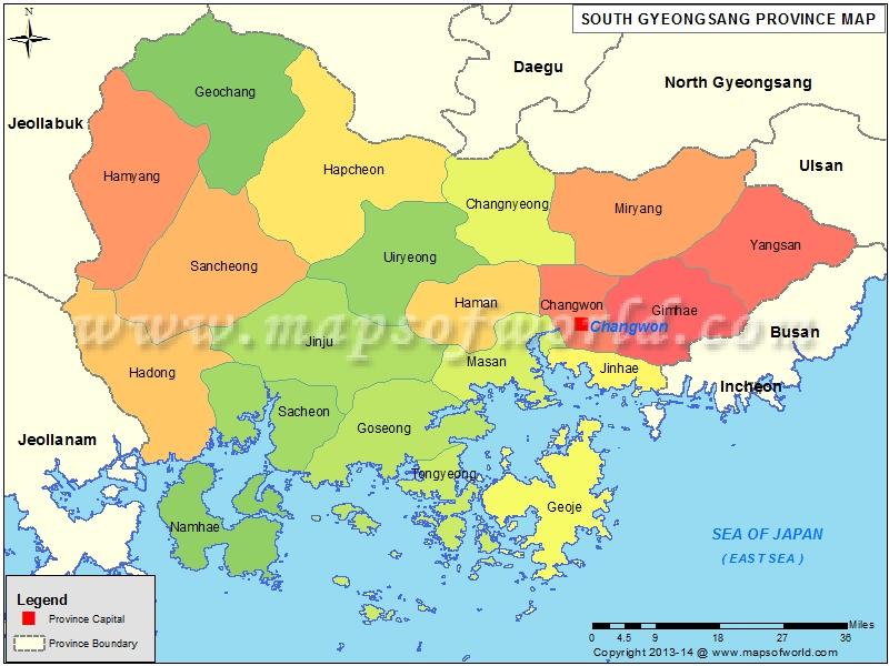 BusanGyeongsang Province Vangohs Travelogue Hidden Charms Of - Busan map