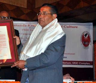 Birkha Bahadur Muringla receives prestigious Bhanu Puraskar 2016