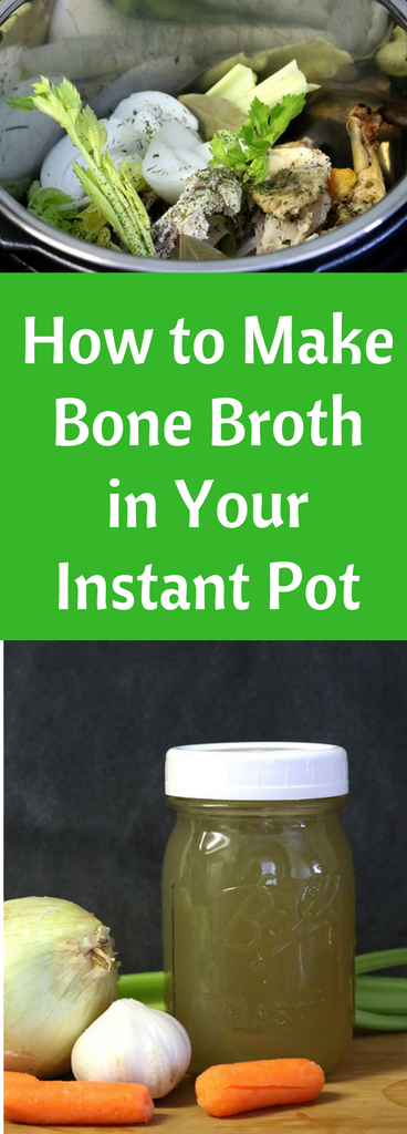 Learn how to make bone broth in an Instant Pot in under an hour.
