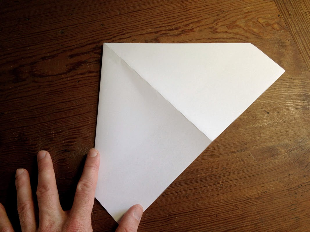 how to turn paper into a scroll