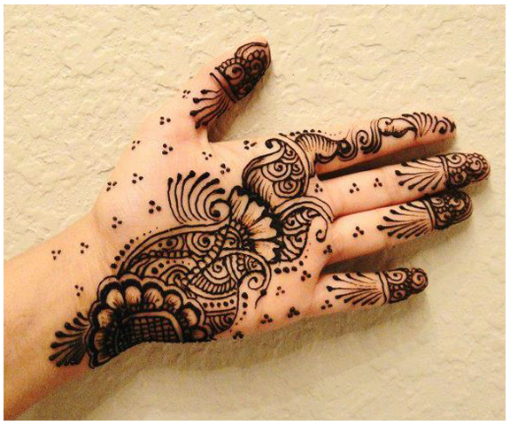 Mango Madness mehndi I Beautiful, easy and simple bridal mehendi/mehandi design for hands.