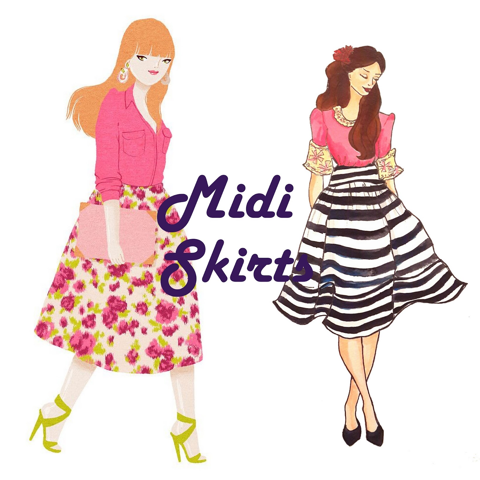 Fashion trends 2015- Midi Skirts from Shein, How to wear Midi skirts, Sheinside.com, Indian fashion blogger