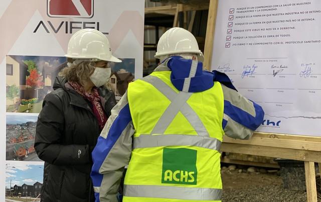 Empresas socias de la CChC Osorno se comprometen a proteger a sus trabajadores