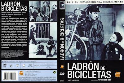 Carátula dvd 1: Ladrón de bicicletas (1948) (Ladri di biciclette)