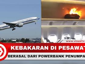 Bandara Soekarno-Hatta Mengeluarkan Larangan Membawa Powerbank ke Pesawat. - Responsive Blogger Template