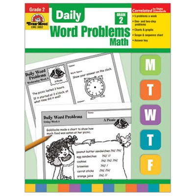 The Arrowood Zoo: Evan Moor Daily Word Problems Math ~ Review