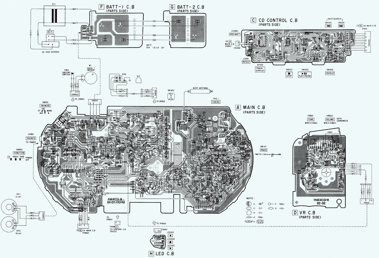 Aiwa Radio Wiring Diagram | Wiring Diagram on