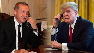 U.S. President Trump And Turkish President Erdogan In Intense Talks Over U.S. Military Support For Syria's Kurds