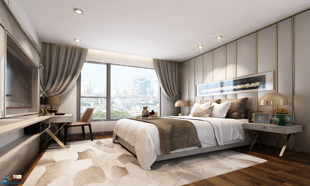 Phòng ngủ căn hộ