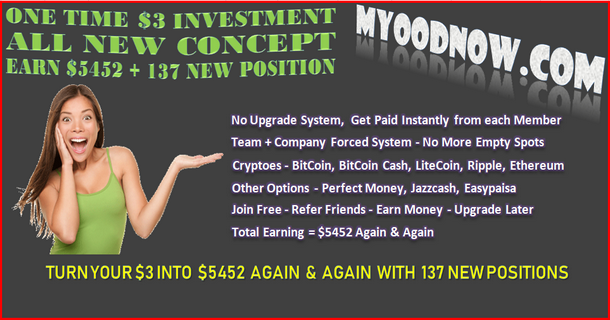MyoodNow | Best Program to Earn Passive Earning