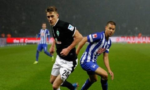 Hertha Berlin và Nurnberg sự đối đầu gay cấn