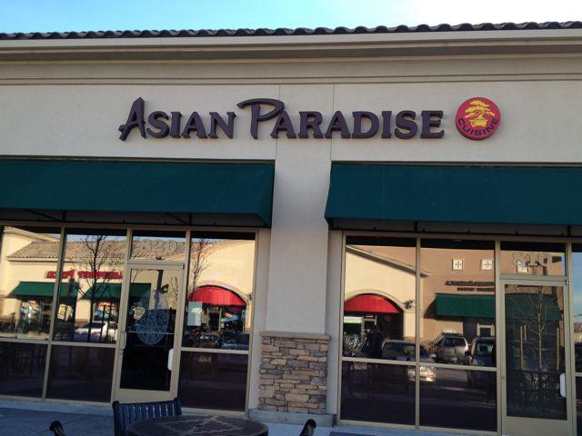 Asian paradise restaurant
