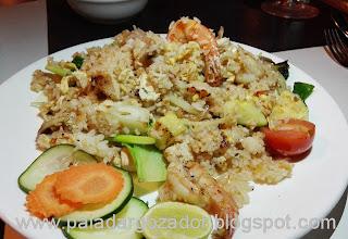 Soho thai restaurante Santiago arroz frito