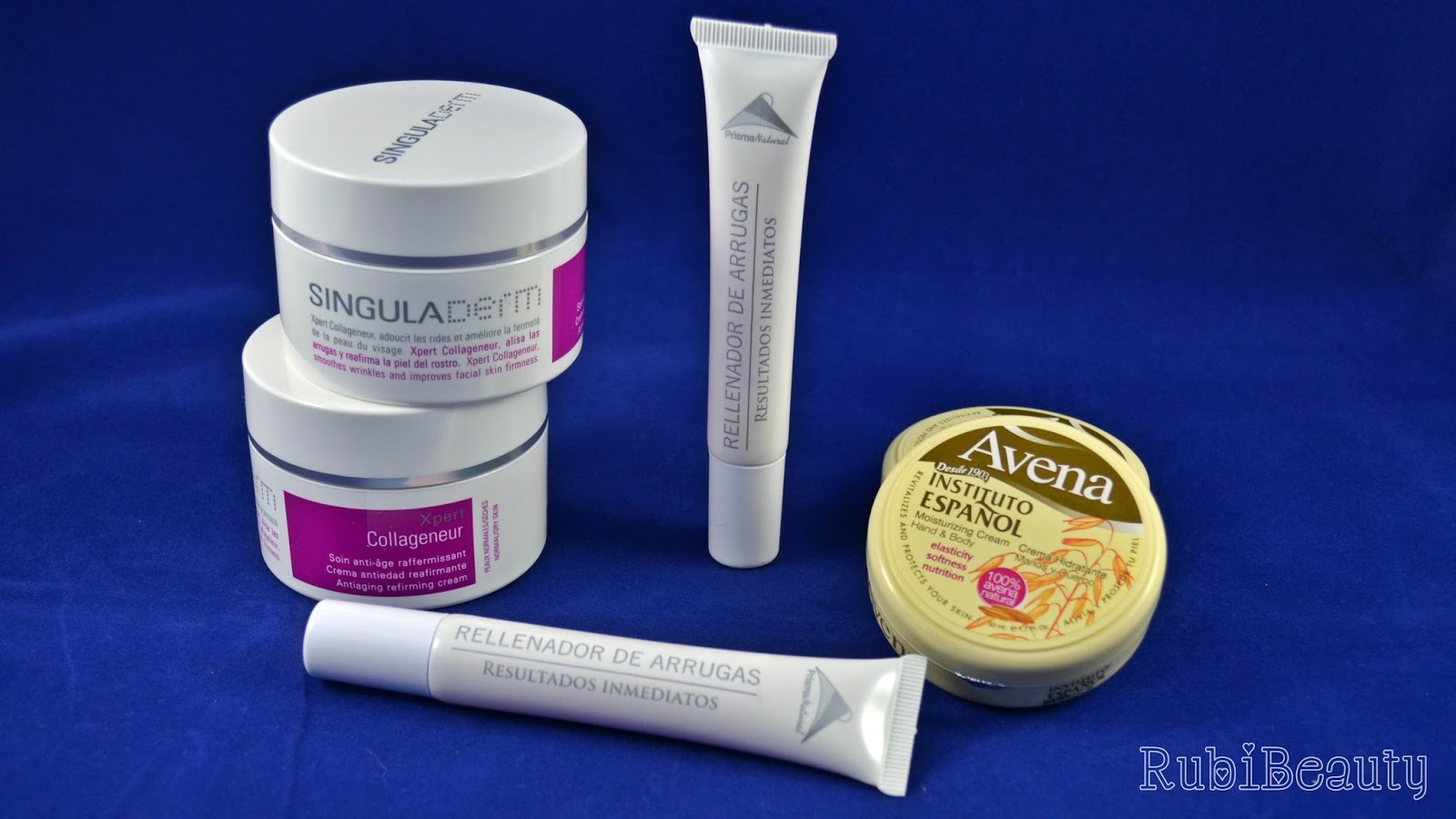 rubibeauty review beautyfever 2015 productos haul singuladerm prisma natural instituto español