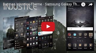 Tema Injustice Punyanya Galaxy S7 Batman Edition - Thobby Blog