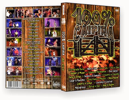 CAPA DVD – 100% Caipira DVD-R