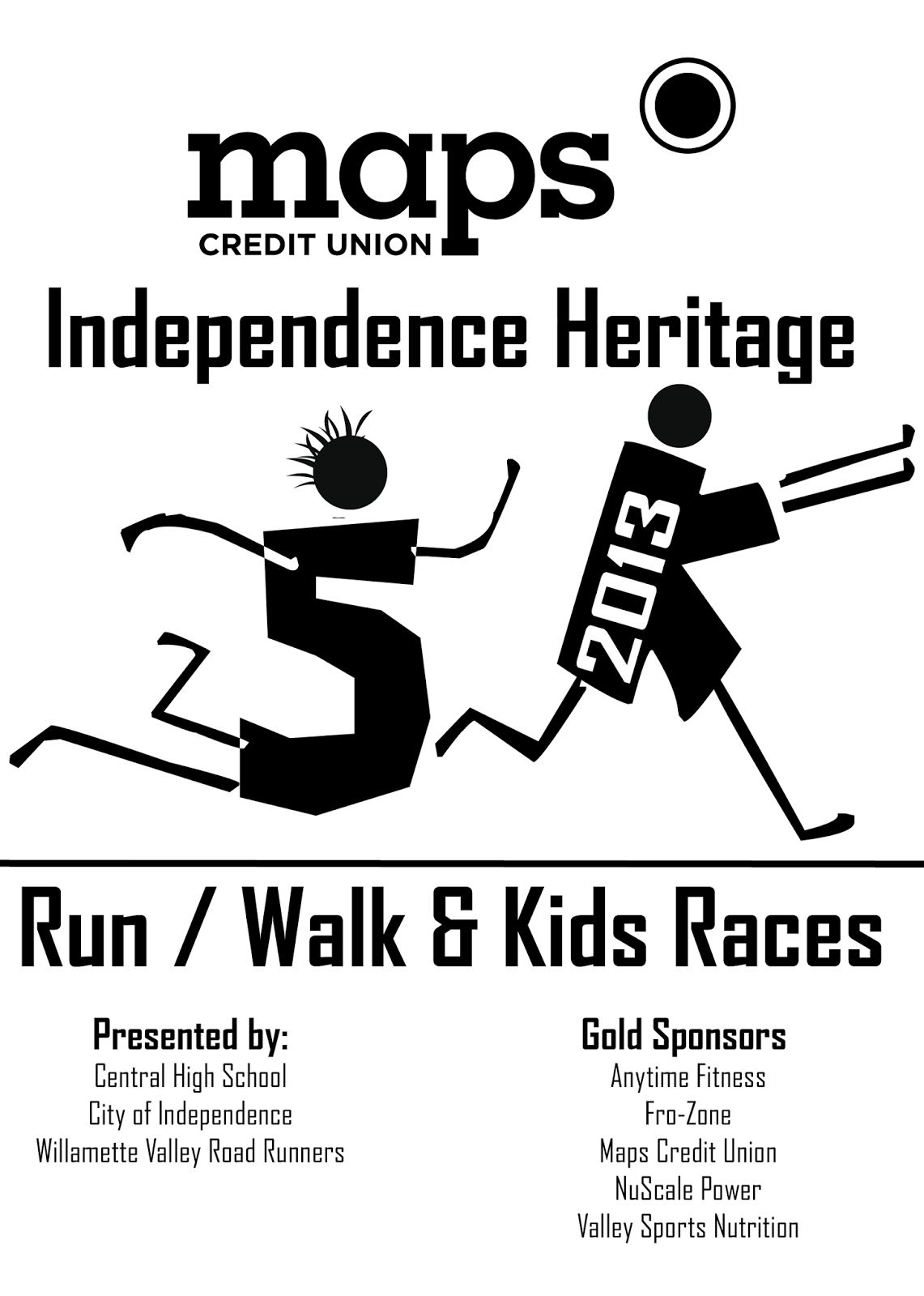 Independence Running Trail: Maps Credit Union Independence