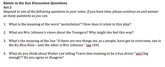 a raisin in the sun essay questions essay help how to write  a raisin in the sun essay questions