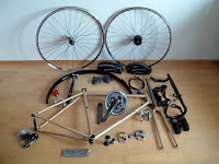 Parts needed to build a bicycle