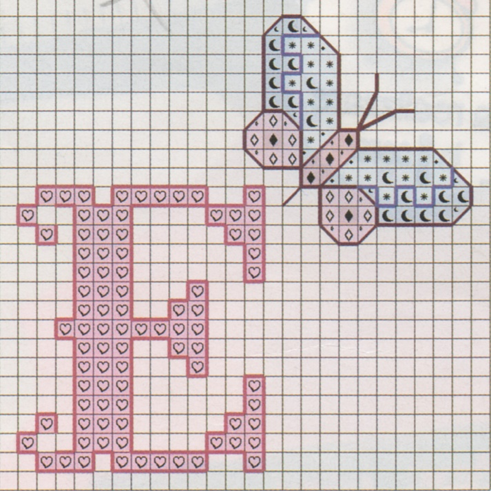 Ricami e schemi a punto croce gratuiti punto croce nomi e for Lettere a punto a croce