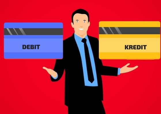 Ilustrasi Dedit atau Kredit - Beda Kartu debit dan Kartu Kredit