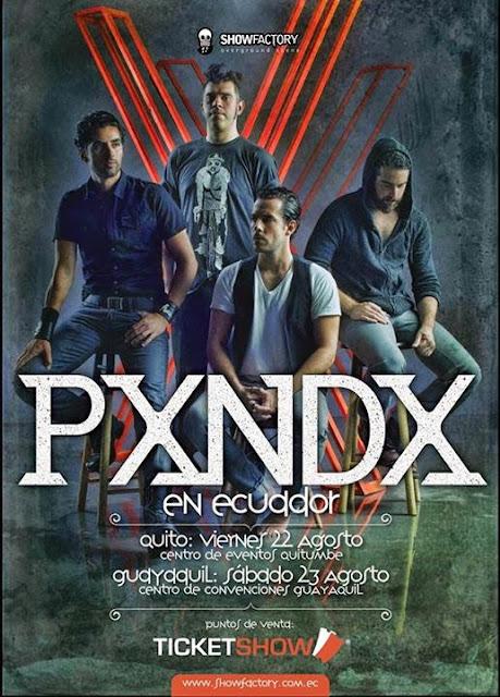 concierto de PXNDA en Guayaquil