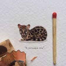 Artwork creative Miniature Paintings by Lorraine Loots