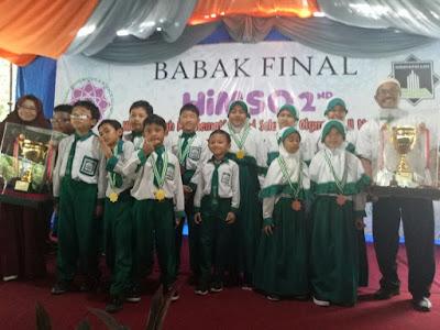 Raih Piala Bergilir HIMSO 2nd
