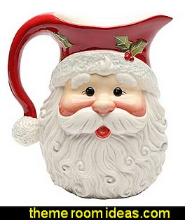 Santa Ceramic Pitcher
