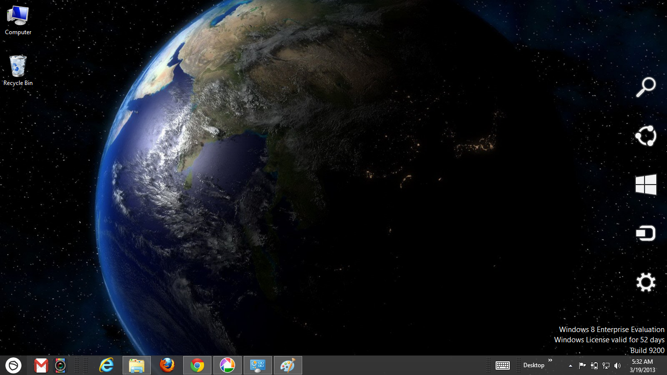 Earth 3d Wallpaper Android Space Galaxy Windows 8 Theme Ouo Themes