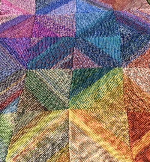 Sediment Scraps Blanket - Free Pattern