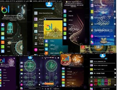 7 Tema BBM Ramadan Terpopuler 2017