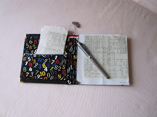 sudoku, punto cruz, point croix, cross stitch, cartonnage