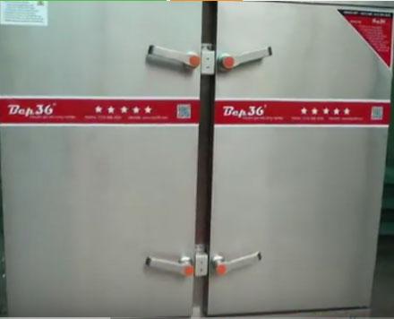 Tủ nấu cơm 24 khay gas tại Sài Gòn