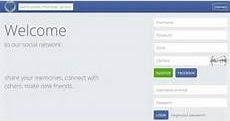 Social network that looks like Facebook
