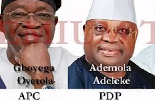 Oyetola and Adeleke