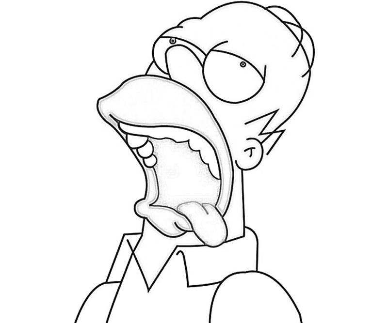 homer coloring pages - photo#10