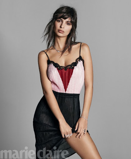 Emily Ratajkowski – Marie Claire Magazine May 2017 issue