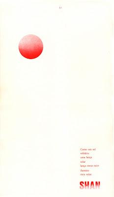 Revista ÍMÃ n.3, 1986, poema de Shan.