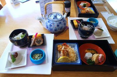 Japanese Traditional Lunch at Kokorogi Fuji Highland