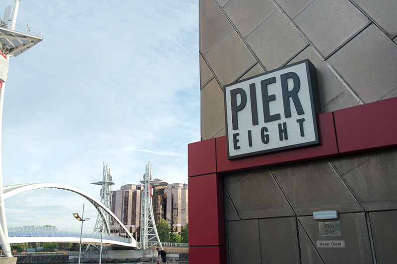 Pier Eight Restaurant at The Lowry
