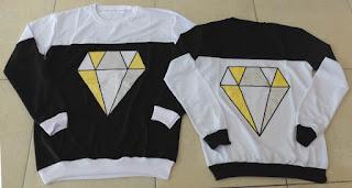 Jual Online Sweater Diamond Murah Jakarta Bahan Babytery Terbaru