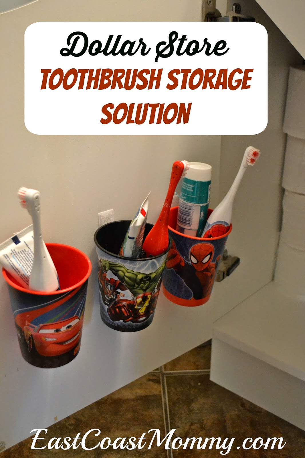 East Coast Mommy: Easy Toothbrush Organization on Decorative Sconces Don't Need Electric Toothbrush id=92229