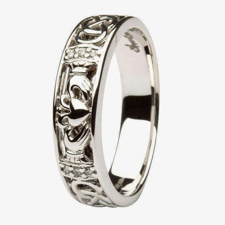 mens celtic wedding rings