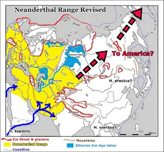 dispersion of Neanderthal into America