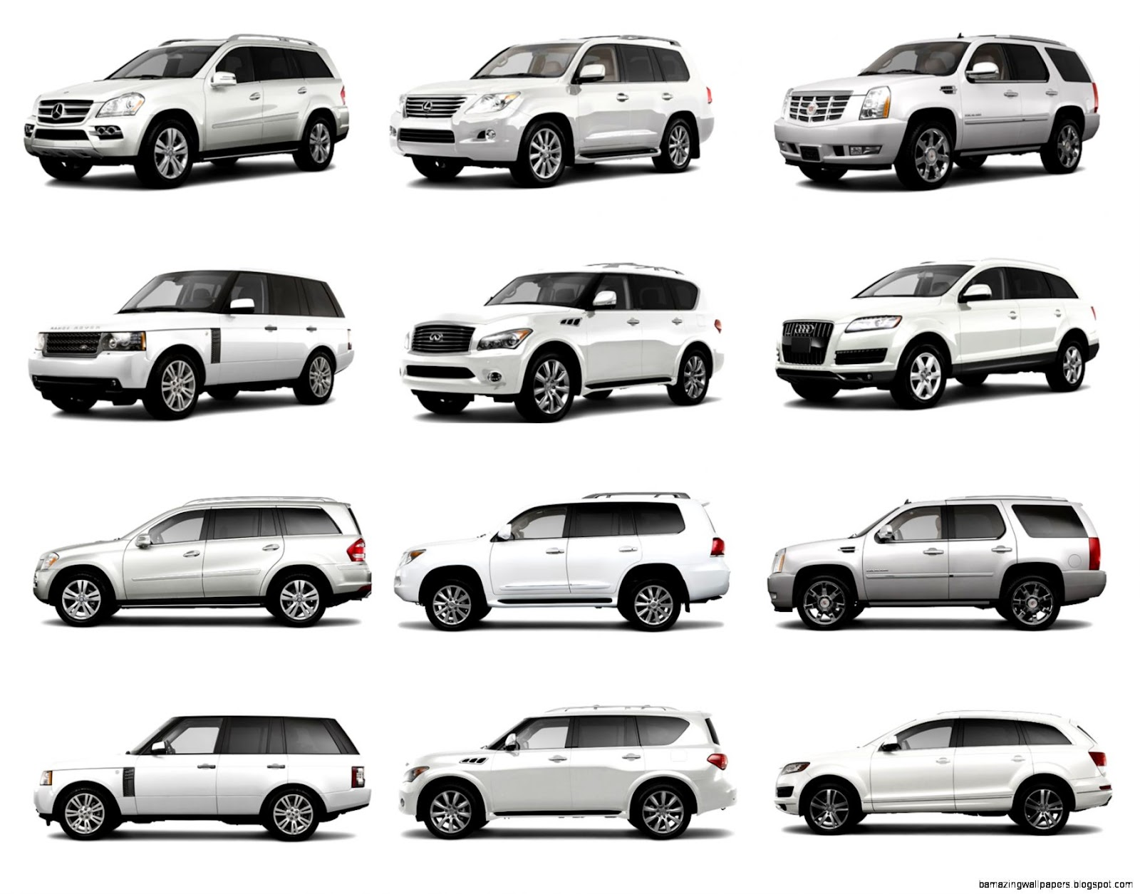 Crossover Suv Comparison Chart Wiring Diagram Database