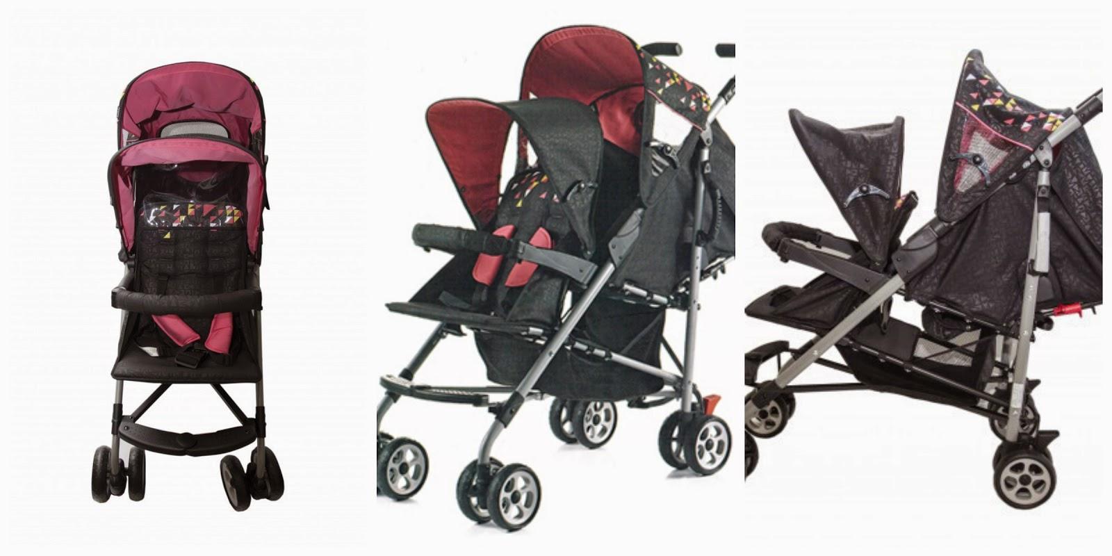 Amy Sweety Store Goodbaby Twin Stroller